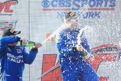 GT podium: ganador, Ryan Eversley, RealTime Racing, segundo, Peter Cunningham, RealTime Racing