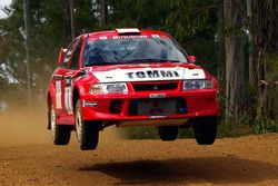 Томми Мякинен и Ристо Маннисенмяки, Mitsubishi Lancer Evo VI, Ралли Австралия 2000 года