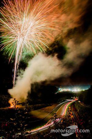 Hangulatos látkép, tűzijáték