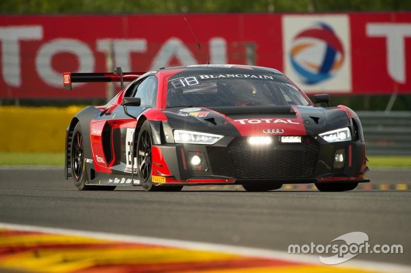 7. #28 Belgian Audi Club Team WRT, Audi R8 LMS: Nico Müller, René Rast, Laurens Vanthoor