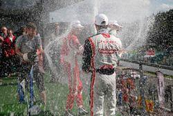 Premiazione: Joel Eriksson, Motopark, Dallara F312 – Volkswagen, Guanyu Zhou, Motopark, Dallara F312