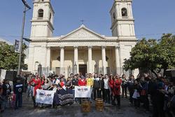 Rijders in Santiago, Argentinië