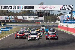Start: Norbert Michelisz, Honda Racing Team JAS, Honda Civic WTCC lider