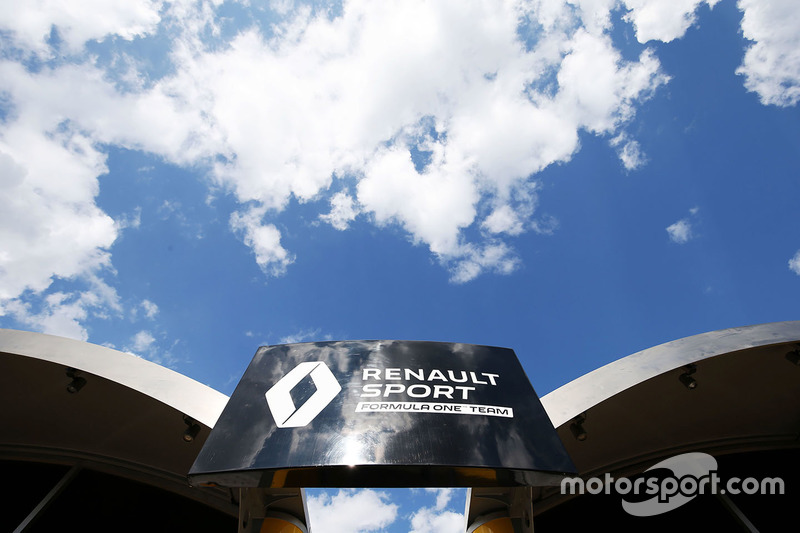 Renault Sport F1 Team, motorhome