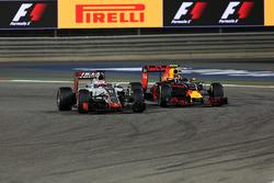 Ромен Грожан, Haas F1 Team VF-16 и Даниил Квят, Red Bull Racing RB12