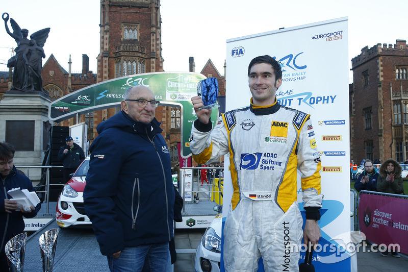 Marijan Griebel, Colin McRae ERC Flat Out Trophy