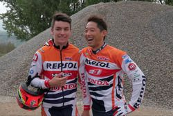 Repsol trial riders