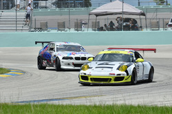 #69 MP1B Porsche 997 Cup Car: Juan Perez and Lonnie Pechnik of Orbit Racing, #71 MP2B BMW E46: Sebastian Carazo and Bryan Ortiz of Allied Car & Truck Rental Racing Team Puerto Rico