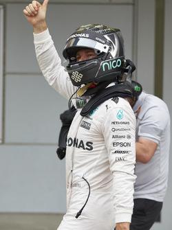 Pole position de Nico Rosberg, Mercedes AMG F1