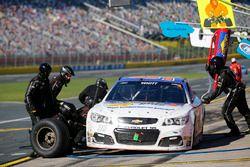 Cole Whitt, Premium Motorsports Chevrolet, pit stop