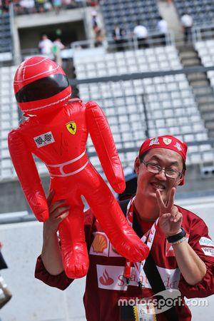 Egy Ferrari szurkoló