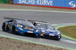 #66 Attempto Racing Team, Lamborghini Huracán GT3: Emil Lindholm, Andre Gies, #13 RWT Racing, Corvet