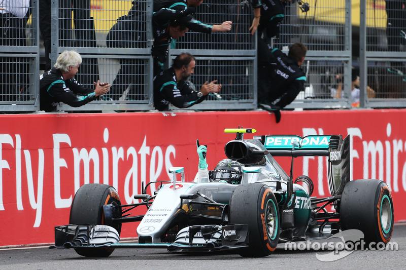 Nico Rosberg - 23 victorias