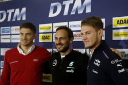 Press Conference with Edoardo Mortara, Audi Sport Team Abt Sportsline, Audi RS 5 DTM; Marco Wittmann, BMW Team RMG, BMW M4 DTM and Gary Paffett, Mercedes-AMG Team ART, Mercedes-AMG C63 DTM