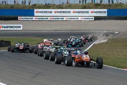 Start, David Beckmann, kfzteile24 Mücke Motorsport Dallara F312 - Mercedes-Benz