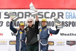 Race winners #15 Multimatic Motorsports Mustang Boss 302R: Billy Johnson, Scott Maxwell and Larry Holt
