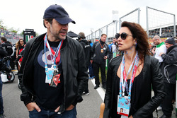 L'acteur Javier Bardem et sa femme, l'actrice Penelope Cruz