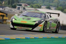 #32 StileF Squadra Corse Ferrari 458 Challenge Evo: Andreas Segler