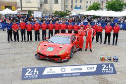 Джанкарло Физикелла, Тони Виландер, Маттео Малучелли, #82 Risi Competizione Ferrari 488 GTE