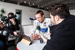 #68 Ford Chip Ganassi Racing Ford GT: Sébastien Bourdais interviewed for Motorsport.com