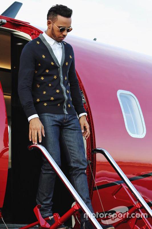 Lewis Hamilton nunca ha ocultado sus lujos