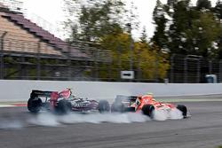 Louis Deletraz, Fortec Motorsports y Tom Dillmann, AVF