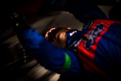 Mechanic of Ford Chip Ganassi Racing Team UK Ford GT