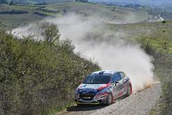 Tommaso Ciuffi, Giacomo Morganti, Peugeot 208 R R2B