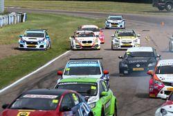 Jason Plato, Silverline Subaru BMR Racing runs out