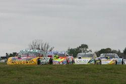 Nicolas Bonelli, Bonelli Competicion Ford, Jonatan Castellano, Castellano Power Team Dodge, Omar Mar