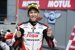 Third place Hiroki Ono, Honda Team Asia