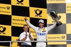 Podium: second place Christian Vietoris, Mercedes-AMG Team Mücke, Mercedes-AMG C63 DTM.