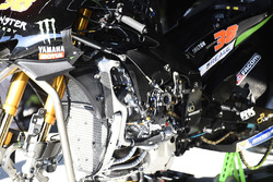Bradley Smith, Monster Yamaha Tech 3 Yamaha M1 detalle