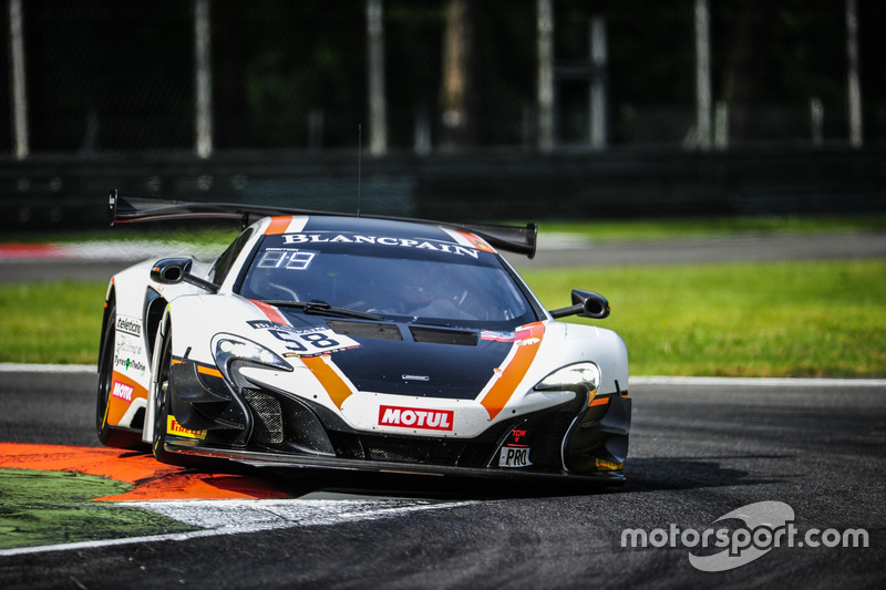 Роб Белл, Шейн ван Гисберген, Коме Ледогар, #58 Garage 59, McLaren 650 S GT3