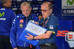 Yamaha ve Michelin mühendisleri