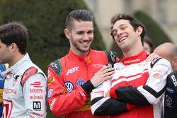 Bruno Senna, Mahindra Racing and Daniel Abt, ABT Schaeffler Audi Sport