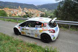 Salvatore Riolo e Alessandro Floris, Peugeot 208 R5, CST Sport