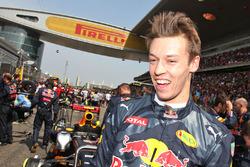 Daniil Kvyat, Red Bull Racing sur la grille
