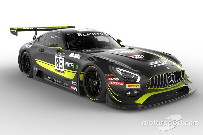 #85 HTP Motorsport: Luciano Bacheta, Indy Dontje, Clemens Schmid