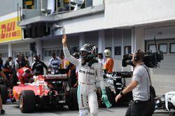 Ganador de la pole, Nico Rosberg, Mercedes AMG F1