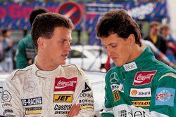 Frank Schmickler, Mercedes, en Michael Schumacher, Mercedes