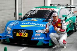 Le poleman, Edoardo Mortara, Audi Sport Team Abt Sportsline, Audi RS 5 DTM