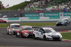 Mikhail Grachev, Honda Civic TCR , WestCoast Racing e Pepe Oriola, SEAT León, Team Craft-Bamboo LUKO