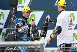 Race winner Jorge Navarro, Estrella Galicia 0,0, second place Brad Binder, Red Bull KTM Ajo