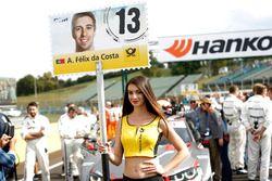 Pitspoes voor António Félix da Costa BMW Team Schnitzer, BMW M4 DTM