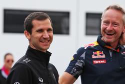 Rémi Taffin, directeur technique moteur de Renault Sport F1 Team, et Jonathan Wheatley, team manager Red Bull Racing