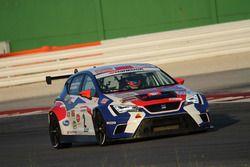 Montalbano-Brigliadori, BF Racing, Seat Leon Racer-TCR