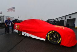 car of Jamie McMurray, Chip Ganassi Racing Chevrolet
