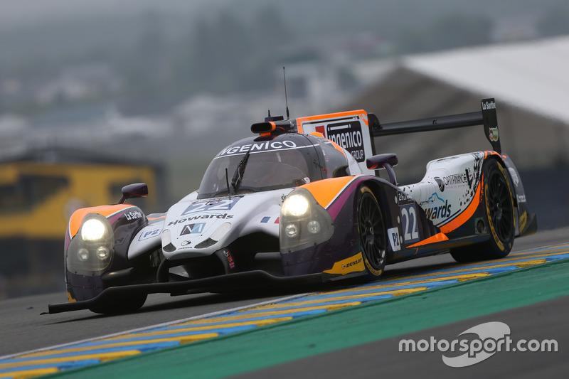 58: Ligier JS P2 Judd команды SO24! By Lombard Racing(№22): Винсан Капийе, Эрик Марис, Джонатан Коулмен
