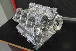 Une architecture moteur taillée masse dans un bloc de titane
